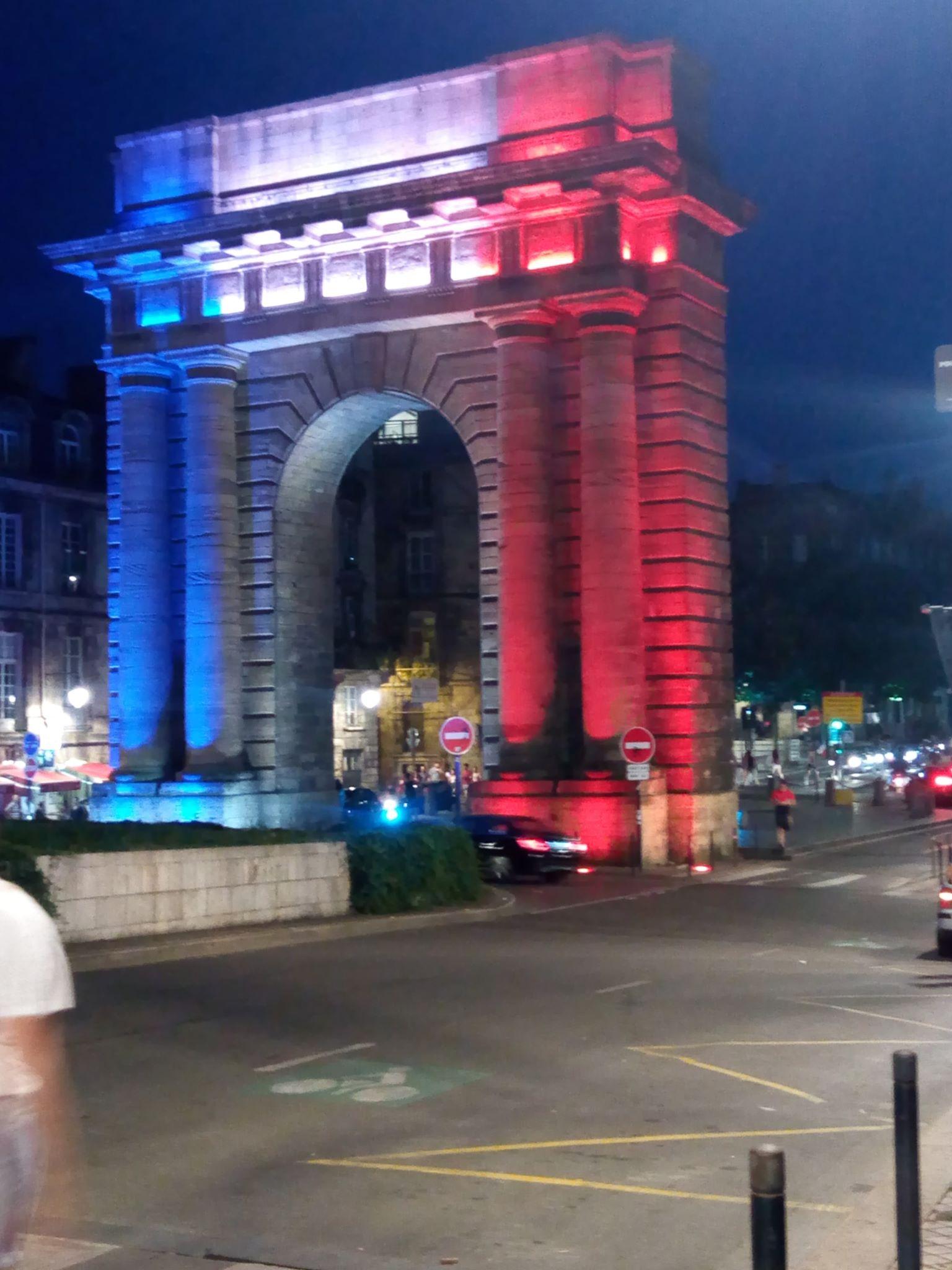 Bordeaux : La porte de Bourgogne