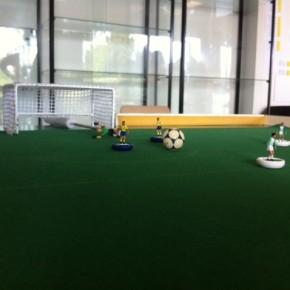 Le football peut aussi se jouer sur une table