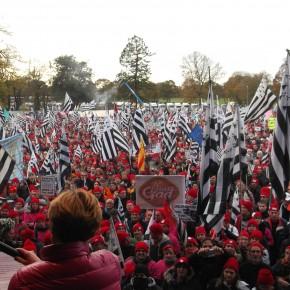 Les bonnets rouges ont manifesté à Carhaix
