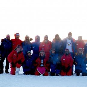 Rencontre avec la chef d'une mission en Antarctique
