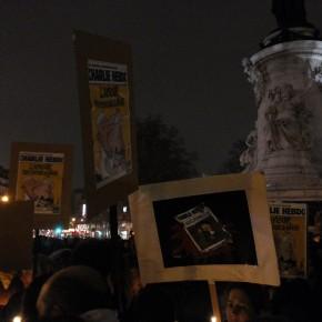 Rassemblement de soutien à Charlie Hebdo : « L'amour plus fort que la haine »